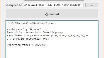 Assassin's Creed: Odyssey: Конвертер Сохранений / Save Convert Tool (ACSaveTool) [2.1.1] {Linus L.}