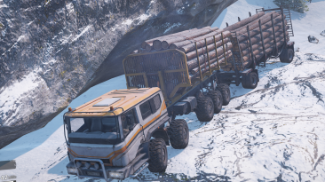 "SnowRunner ""Азов 73210 custom"""