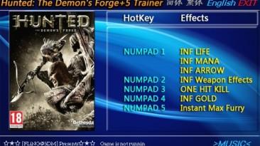 Hunted - The Demon's Forge: Трейнер/Trainer (+5) [1.0] {FLiNG}