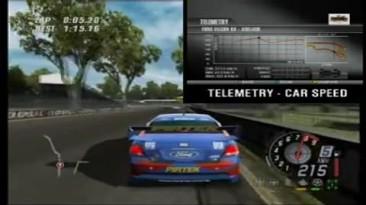 ToCA Race Driver 3 - Телеметрия