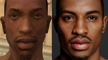 Художник показал, как бы выглядел Си-Джей из GTA: San Andreas в 2020 году
