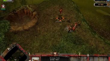 "Warhammer 40,000: Dawn Of War - Dark Crusade ""Карта - Necrontyr Rising"""