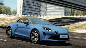 "City Car Driving ""2017 Alpine A110 v1.5.9 - 1.5.9.2"""