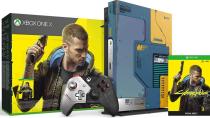 У консоли Xbox One X в стиле Cyberpunk 2077 есть скрытое сообщение, раскрытое ультрафиолетовым светом