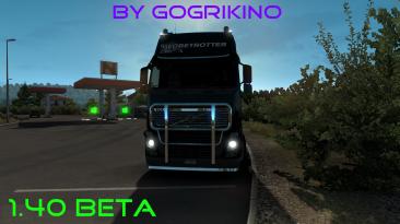 Euro Truck Simulator 2: Сохранение/SaveGame (Нет DLC / 100% дорог) [1.40 beta]