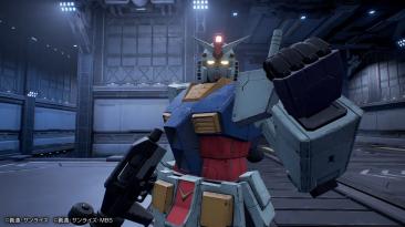 Множество новых скриншотов Gundam Evolution
