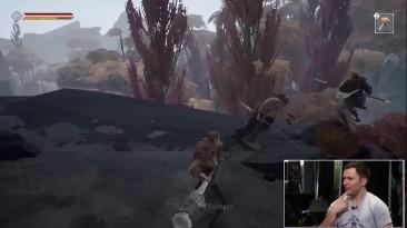 Новый геймплей мрачной ARPG Ashen