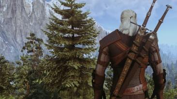 "Witcher 3: Wild Hunt: ""Приятный ретекстур ножен Волка"""