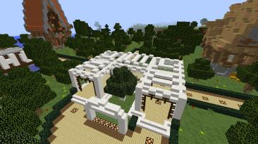 "Minecraft ""Спавн для сервера от [RafaelKNIGHT] (1.12.2)"""