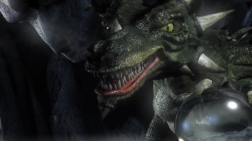 Дракон из заставки Stronghold Legends