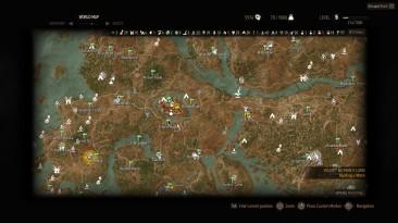 "Witcher 3: Wild Hunt ""Показать метки на карте 1.21"""