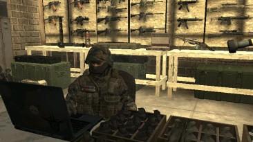 "Call of Duty 4: Modern Warfare ""Российская гражданская война - мод для аддона COD4: Special Ops Missions"""