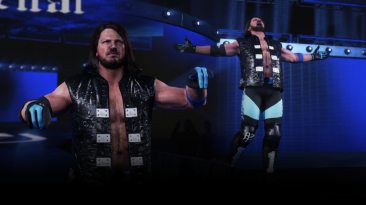 "WWE 2K19 ""AJ Styles '20 Latest Smackdown Attire.MOD"""