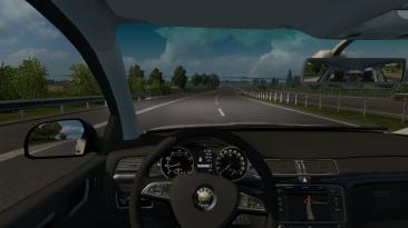 "Euro Truck Simulator 2: Чит-Мод/Cheat-Mode (Мод ""Следопыт"")"