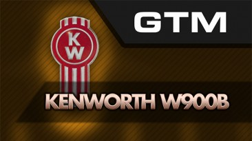 "American Truck Simulator ""Грузовик: GTM Kenworth W900B ATS 1.37"""