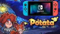 Состоялся релиз Potata: Fairy Flower на Switch