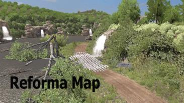 "American Truck Simulator ""Карта: Reforma v2.1.4 (1.40.x)"""