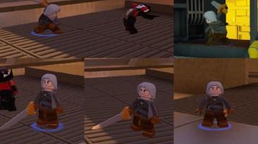 "Lego Marvel's Avengers ""Скин Геральта"""