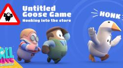 В Fall Guys добавили замечательный наряд из Untitled Goose Game