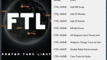 FTL ~ Faster Than Light: Трейнер/Trainer (+8) [1.05.13] {gir489}