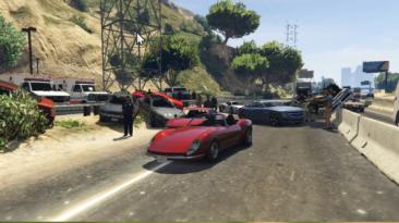 "Grand Theft Auto 5 ""Insane Car Crash"""