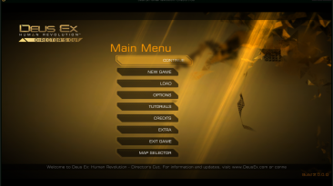 """Deus Ex: Human Revolution """"Меню отладки для Director's Cut (2.0.0.0-2.0.66.0)"""""""