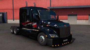 "Euro Truck Simulator 2 ""Peterbilt 579 Custom v1.1 (1.40.x)"""