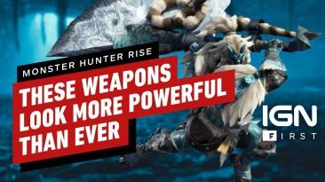 Новая запись игрового процесса Monster Hunter Rise
