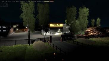 "Euro Truck Simulator 2 ""Новые Префабы Компаний Sawmill ETS2 1.35.x"""
