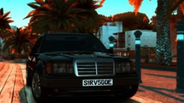 "Test Drive Unlimited 2 ""Mercedes-Benz E500 W124"""