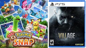 New Pokemon Snap обошла Resident Evil Village по продажам в Японии