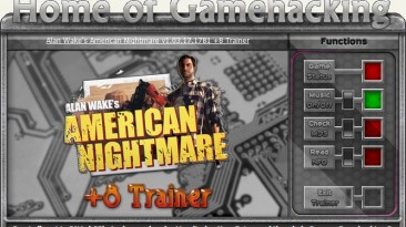 Alan Wake's - American Nightmare: Трейнер/Trainer (+8) [1.03.17.1781: Steam Version] {iNvIcTUs oRCuS / HoG}