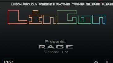 Rage: Трейнер (+17) [Update 1] {LinGon}