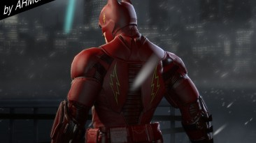 "Batman: Arkham Origins ""Bat-Flash Suit by ARMenian GAMer"""