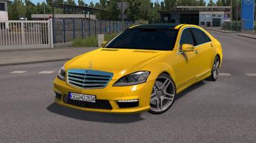 "Euro Truck Simulator 2 ""2012 Mercedes-Benz S65 AMG v3.0 (1.40.x)"""
