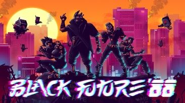 "Анонсирован киберпанковый 2D шутер рогалик "" Black Future '88 "" для Nintendo Switch"