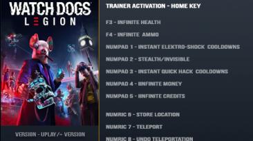 Watch Dogs: Legion: Трейнер/Trainer (+11) [1.0] {LinGon}