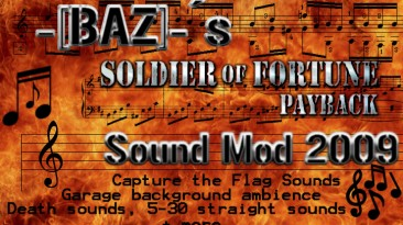 """Soldier of fortune: PAYBACK """"Baz_sound_mod_2009"""""""