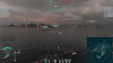 Показательный нагиб в рангах - World of Warships