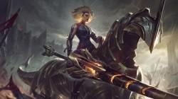 Новым чемпионом League of Legends станет Релл - девушка с огромным копьем на коне