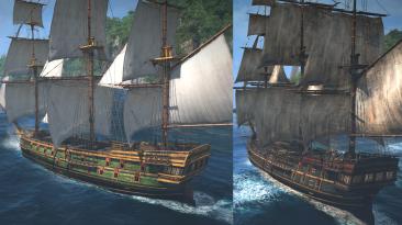 """Assassin's Creed 4: Black Flag """"Мод-пак: Фрегаты (португальский & Принцесса)"""""""
