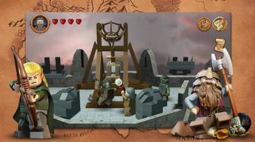 Приключенческая игра LEGO The Lord of the Rings появилась в Google Play