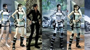 """Tomb Raider """"Черно-белое"""""""