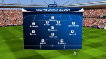 "FIFA 10 ""Легенды Чехословакии"""