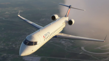 Новые видеоролики надстройки CRJ для Microsoft Flight Simulator