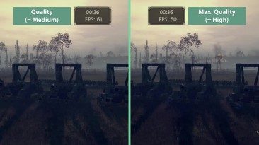 "Total War: Attila ""Тест частоты кадров GTX 970 SLI @1440p"""