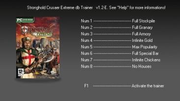 Stronghold - Crusader: Трейнер (+8) [1.2E] {dbhackerZ}