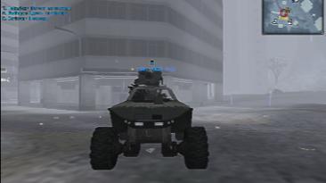 """Battlefield 2142 """"Новый джип с миниганом warthog из игры HALO"""""""