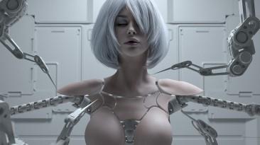 Потрясающий косплей на 2B из NieR:Automata от Mari Miwa