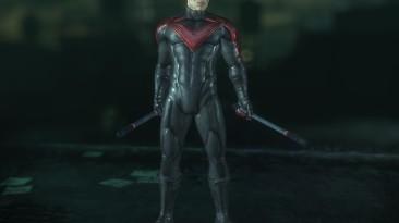 "Batman: Arkham City ""Nightwing Red"""